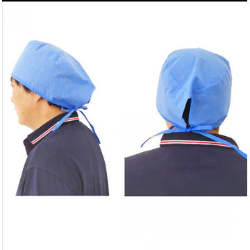 Disposable Doctor Surgical Hood Cap with Ties